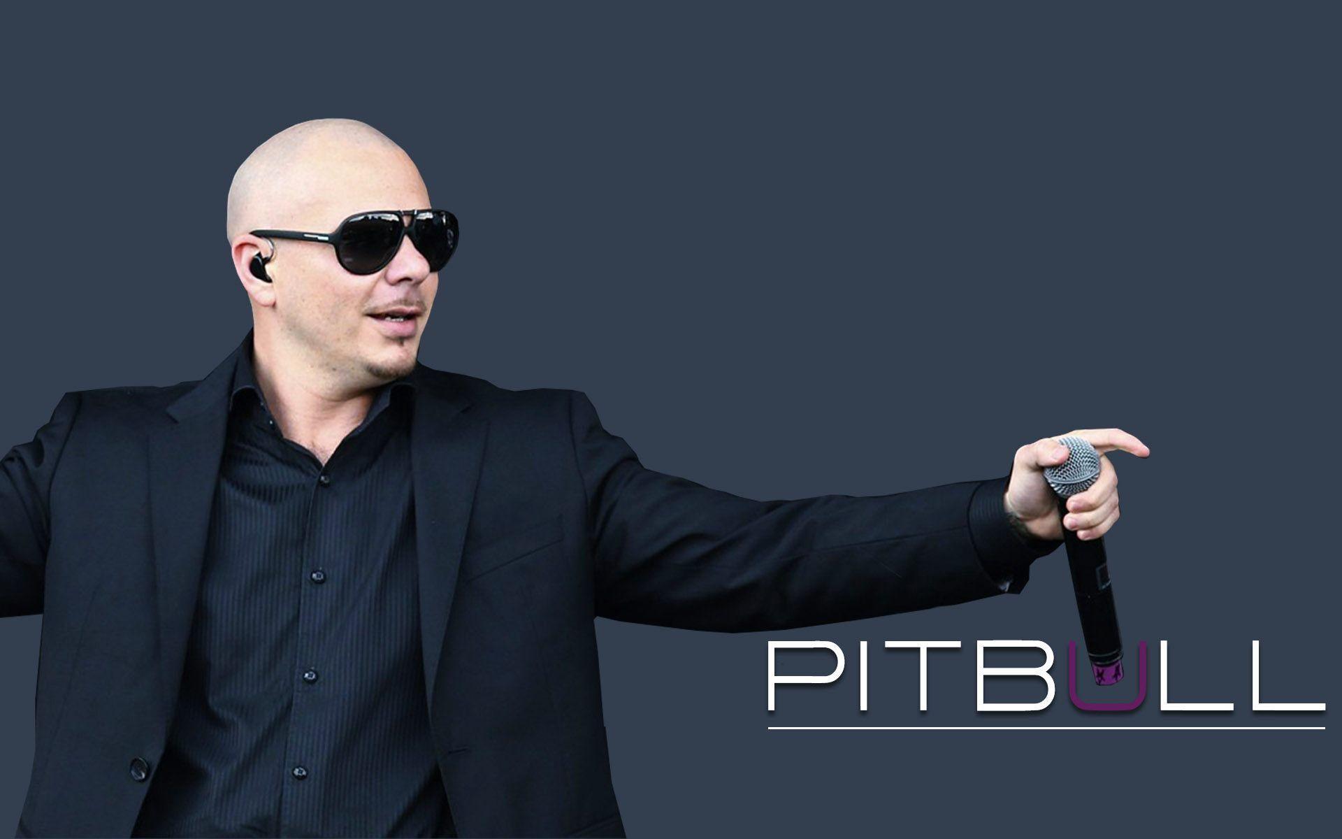 Pitbull Rapper Best Wallpaper HD
