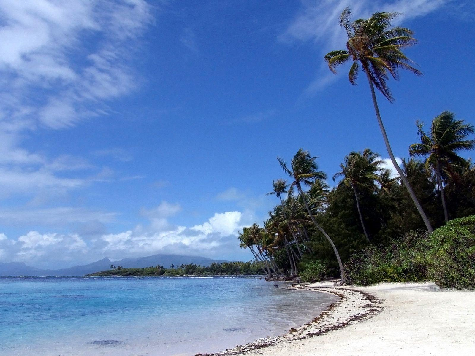 tropical island backgrounds - photo #30