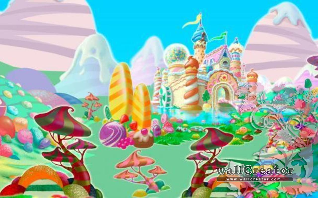 candy world wallpaper - photo #21