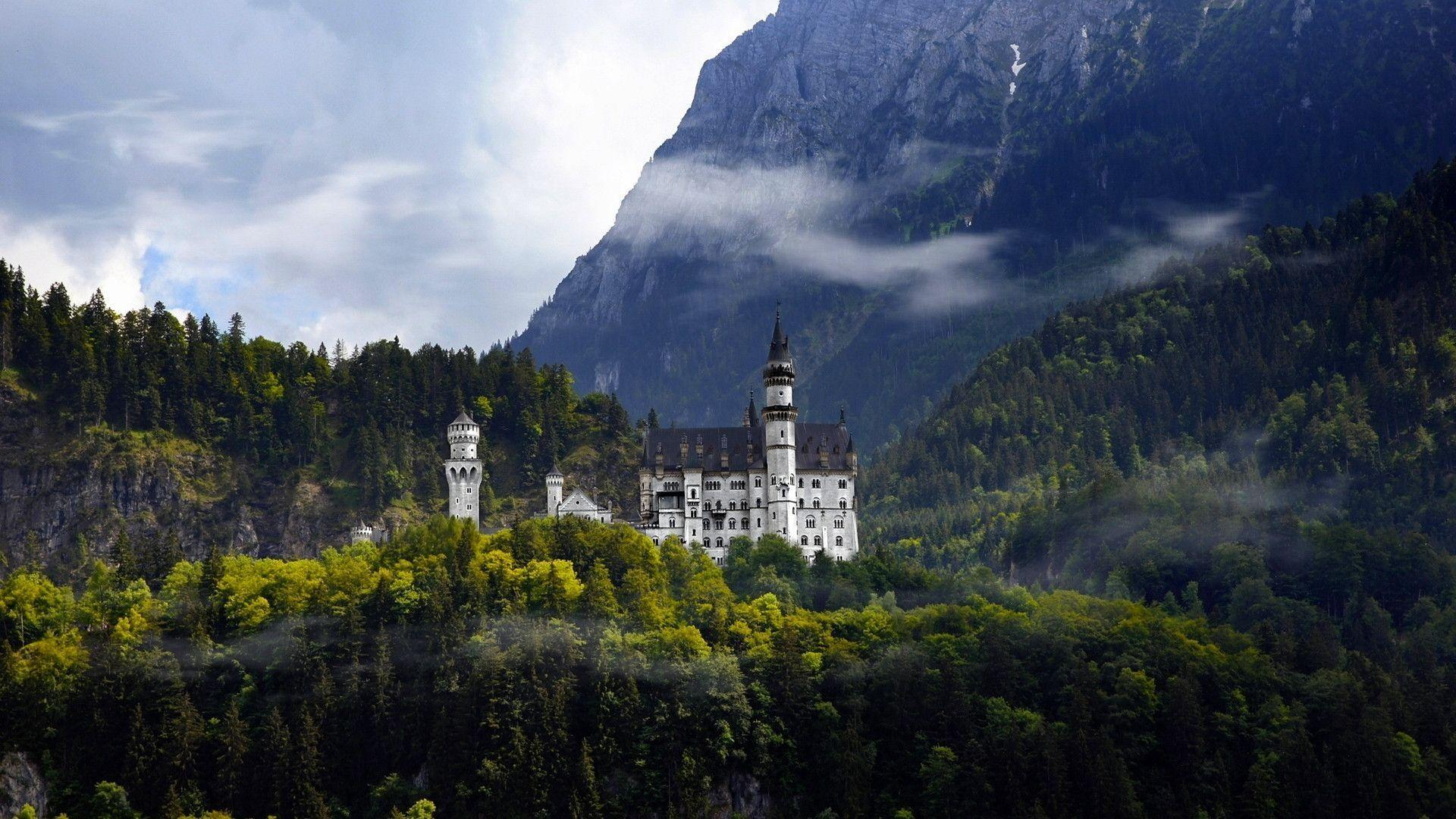 Neuschwanstein Castle 1920x1080 World Wallpaper - #