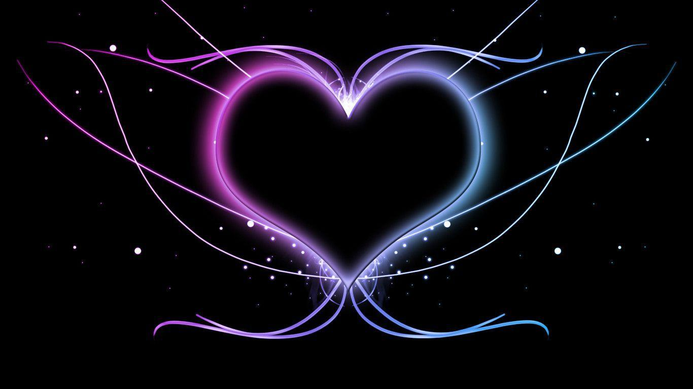 Cool heart wallpapers wallpaper cave - Cool love images ...