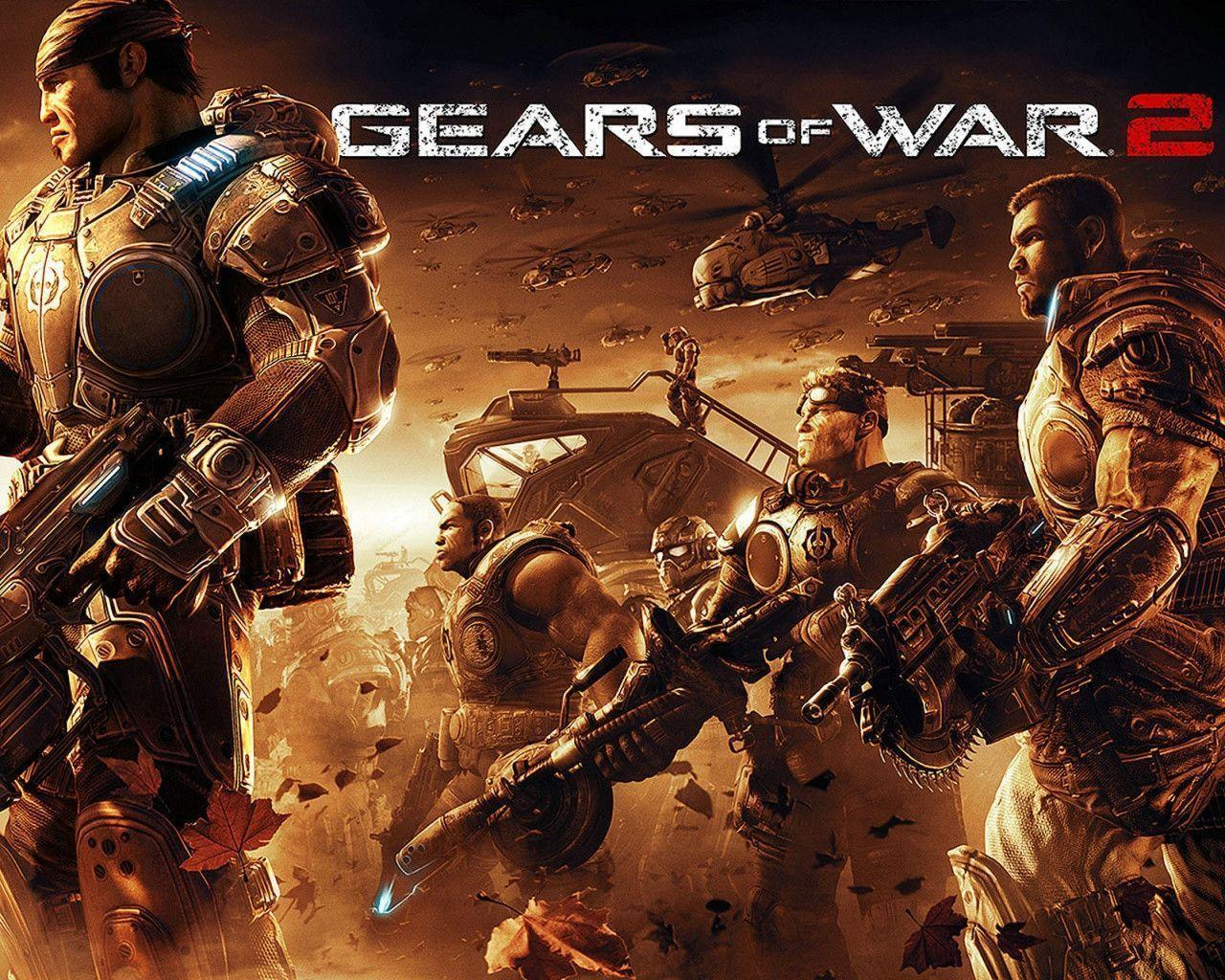 Gears Of War 2 Wallpapers Wallpaper Cave