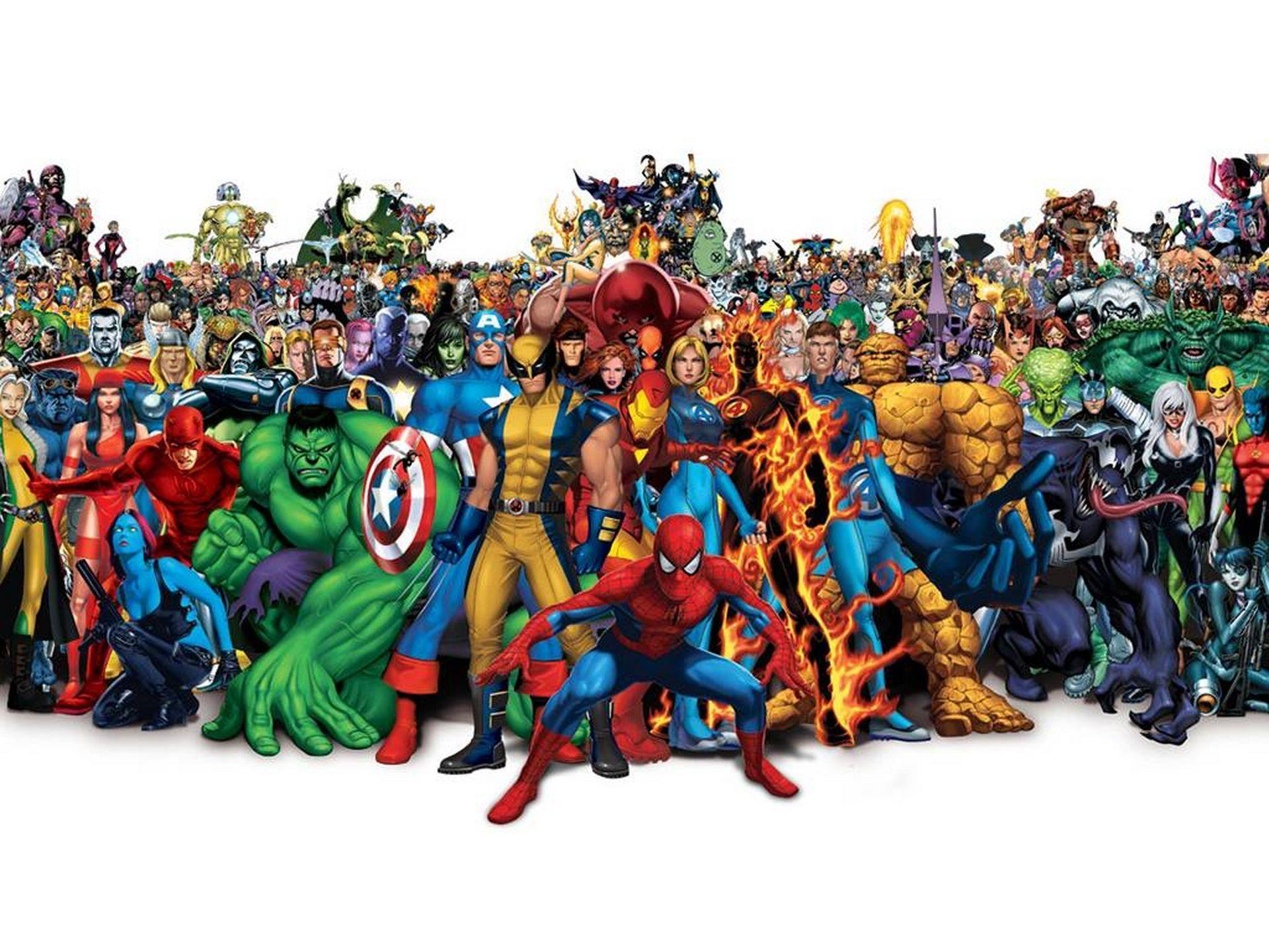Marvel Universe Wallpaper 1920X1080 32113 Hd Wallpapers in Movies ...