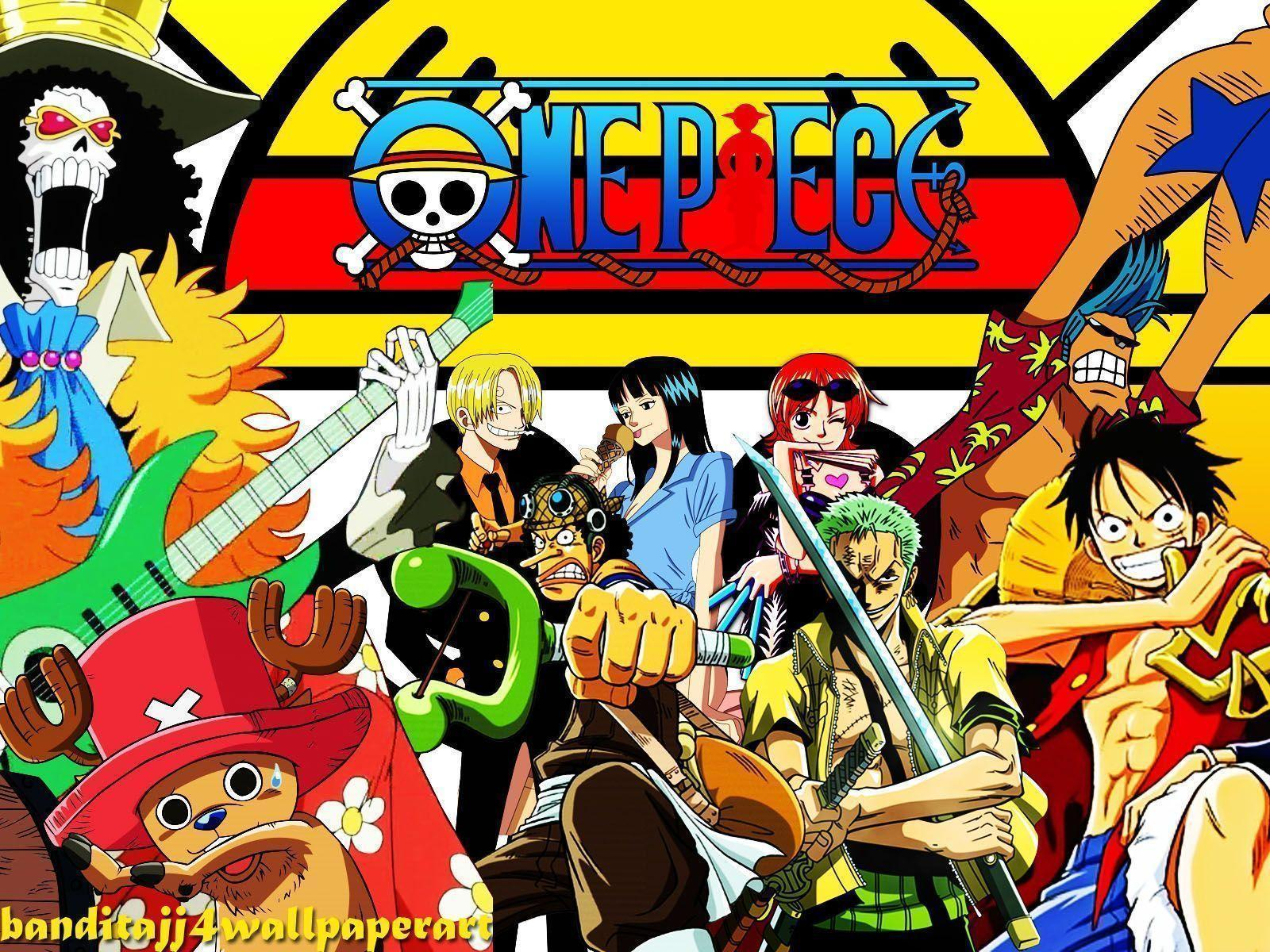 Wallpapers For > One Piece Crew Wallpapers Widescreen
