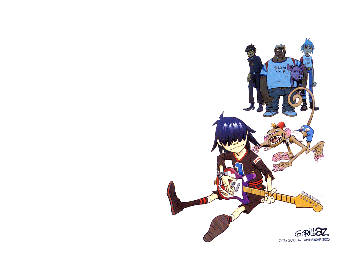 download wallpaper gorillaz desktop - photo #6