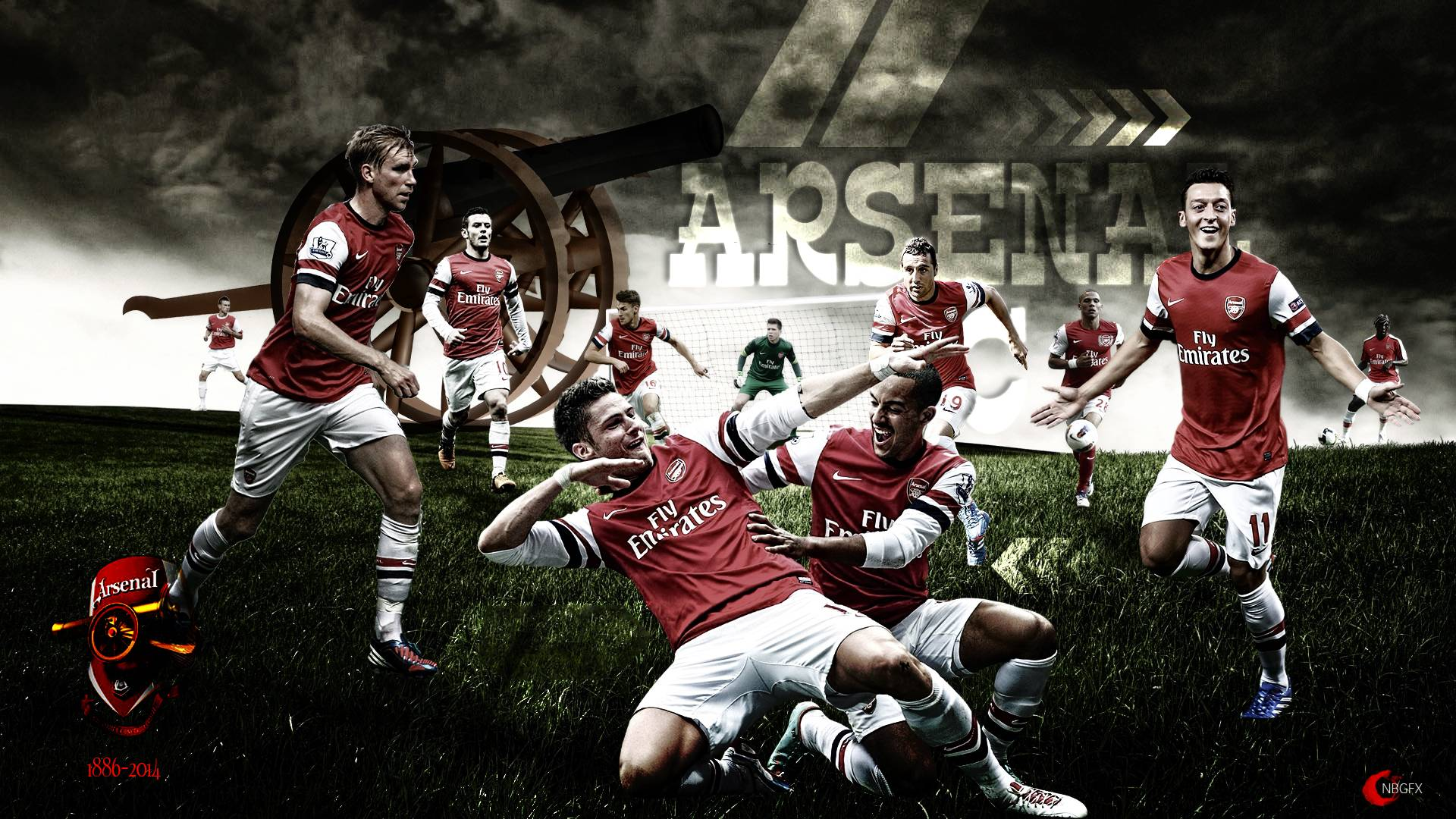 ARSENAL FC WALLPAPER- HD by nirmalyabasu5 on DeviantArt