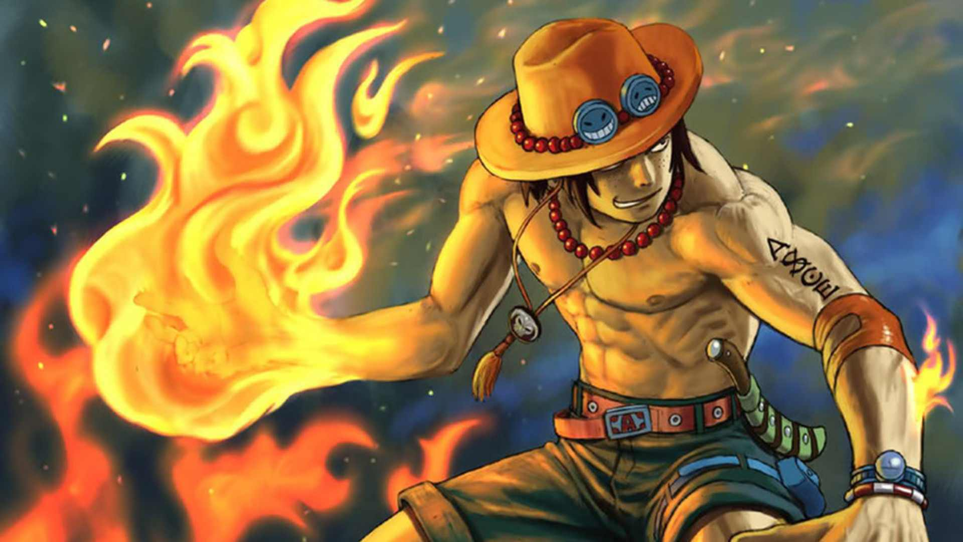 One Piece Ace One Piece Ace Wallpape...
