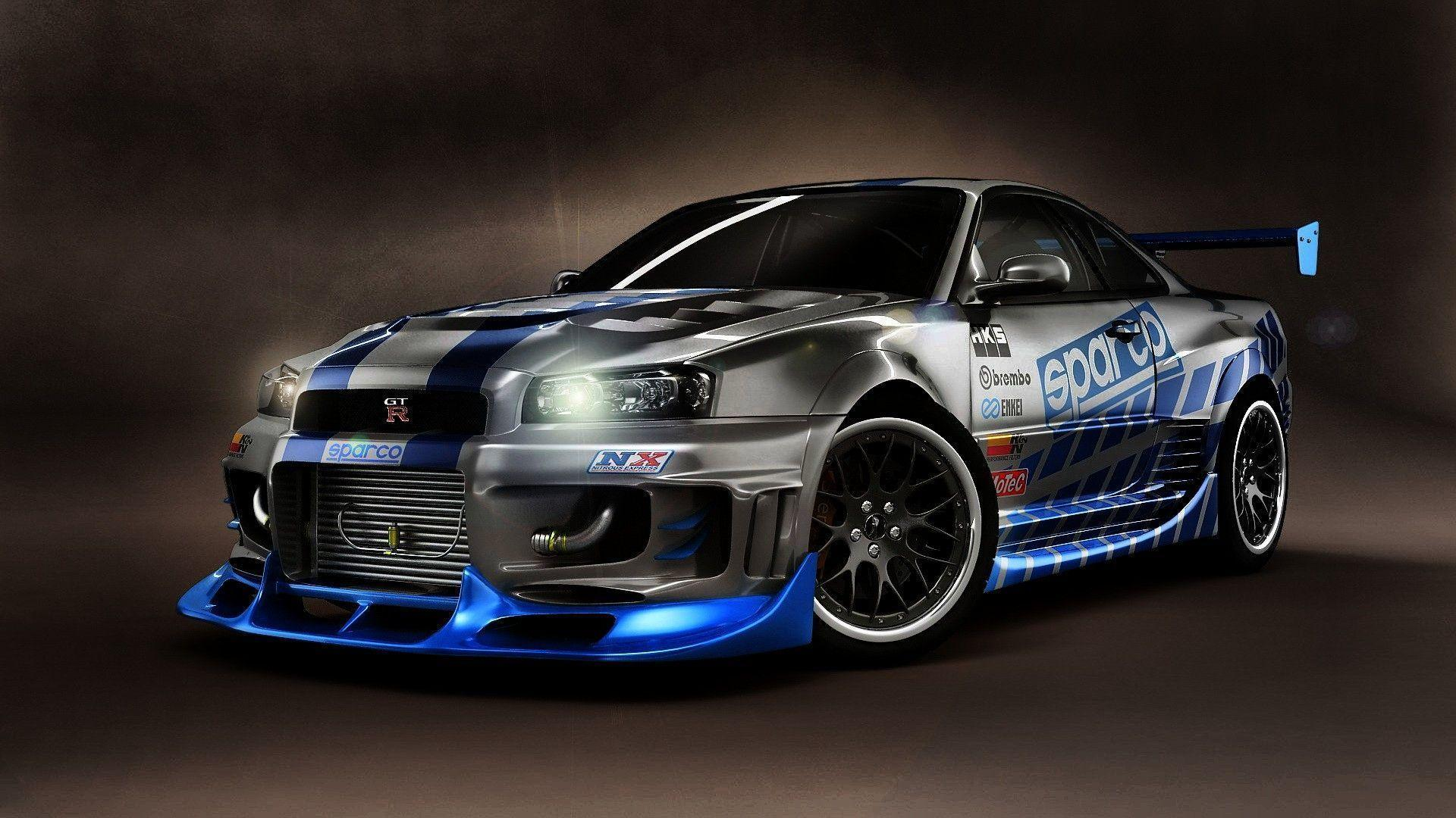 Supra Vs Charger >> Nissan Skyline R34 Wallpapers - Wallpaper Cave