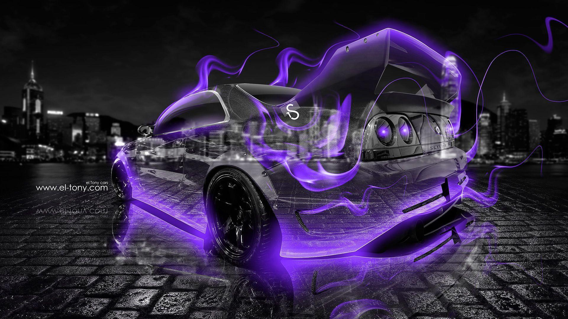Genial Nissan Skyline GTR R33 JDM Crystal Energy City Car 2014 « El Tony