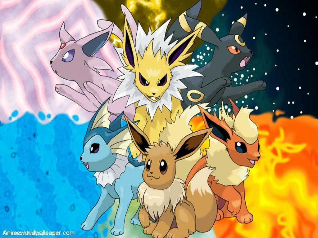 Eevee Evolutions Wallpapers - Wallpaper Cave