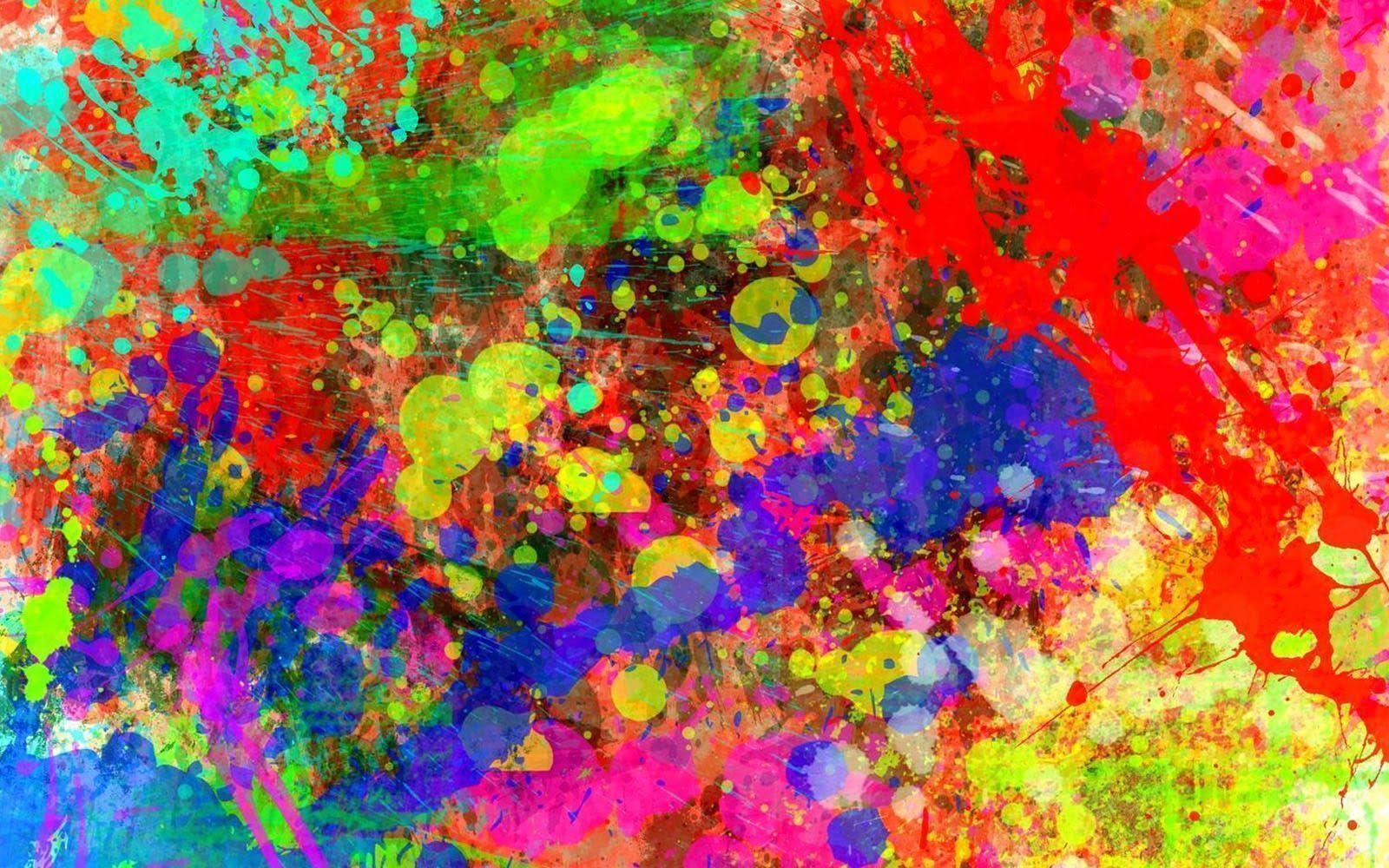 Color Splash Wallpapers Wallpaper Cave