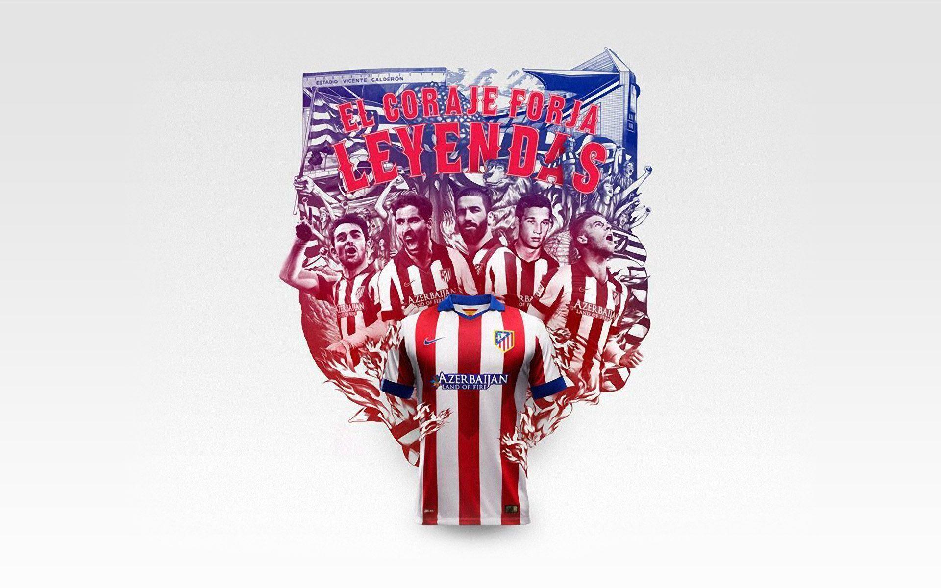 2014 Atletico Madrid Wallpapers For Desktop 2637 Football