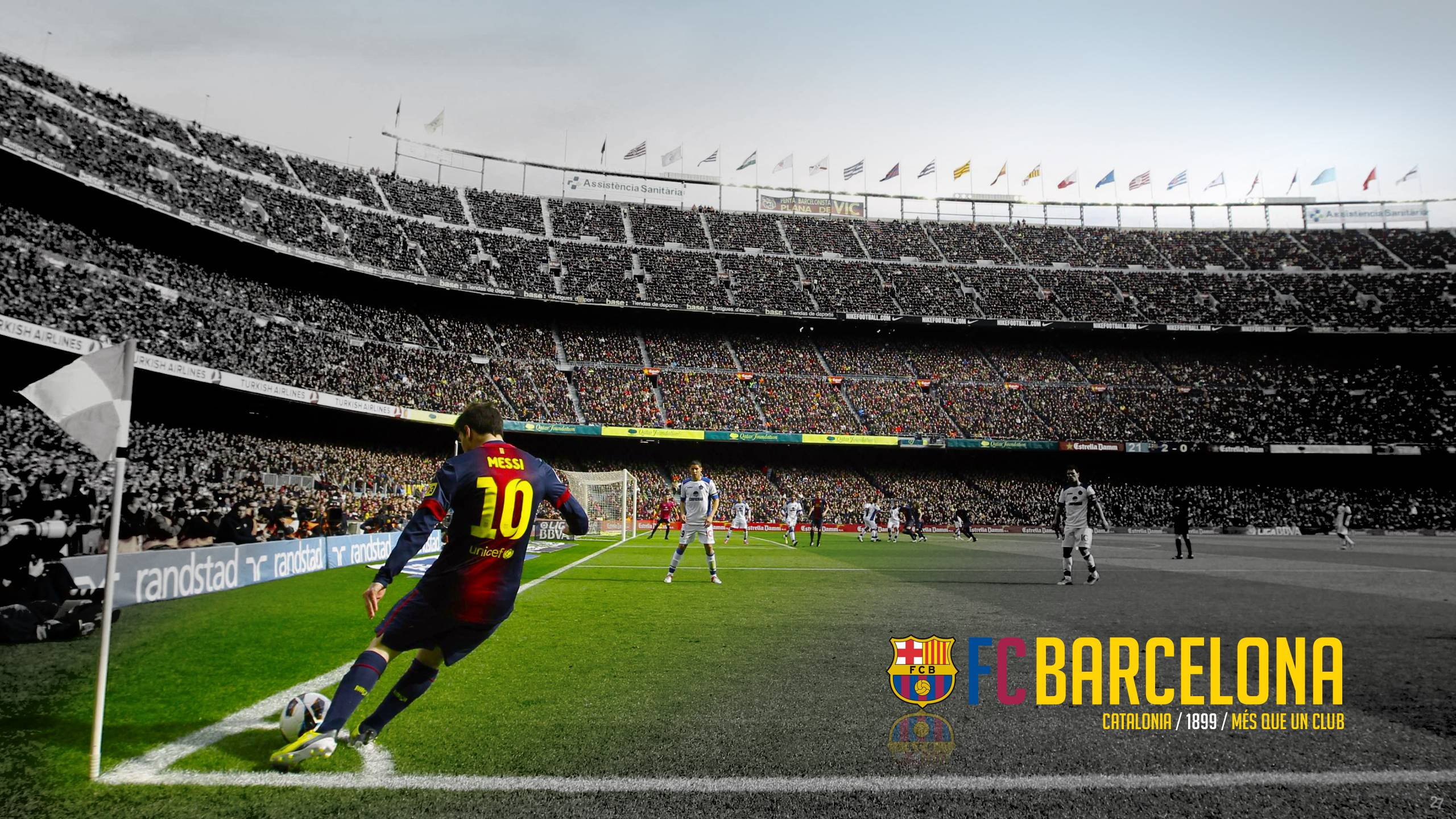 Camp Nou Wallpapers Wallpaper Cave