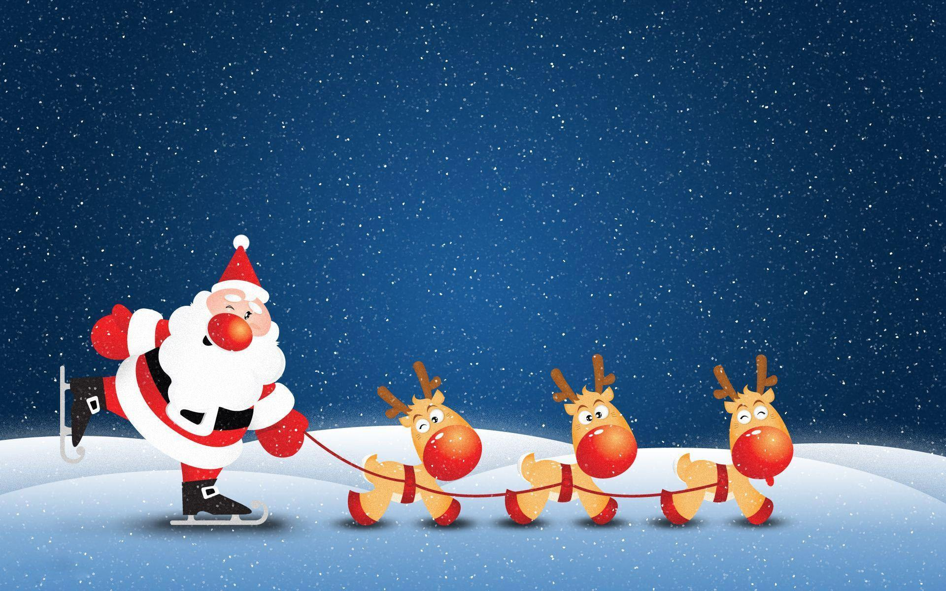 Santa Claus Wallpapers - Wallpaper Cave