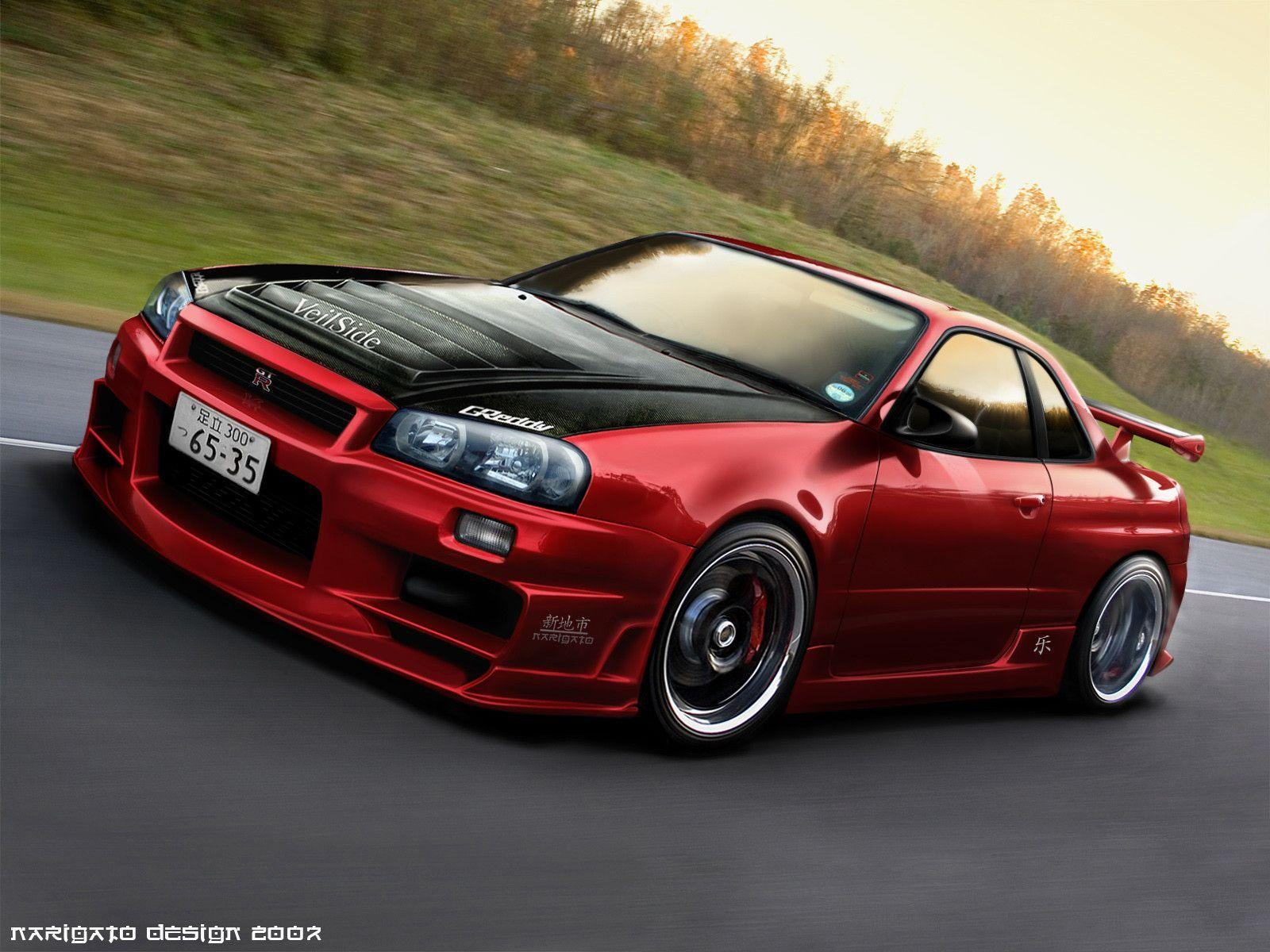 R34 skyline wallpapers wallpaper cave - Nissan skyline background ...