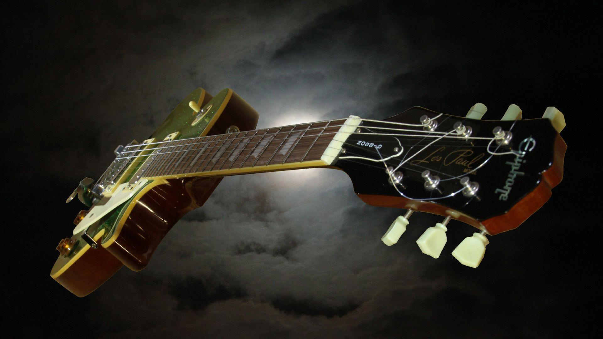 Amazing Music Gibson Les Paul Style HD Wallpapers Picture Image