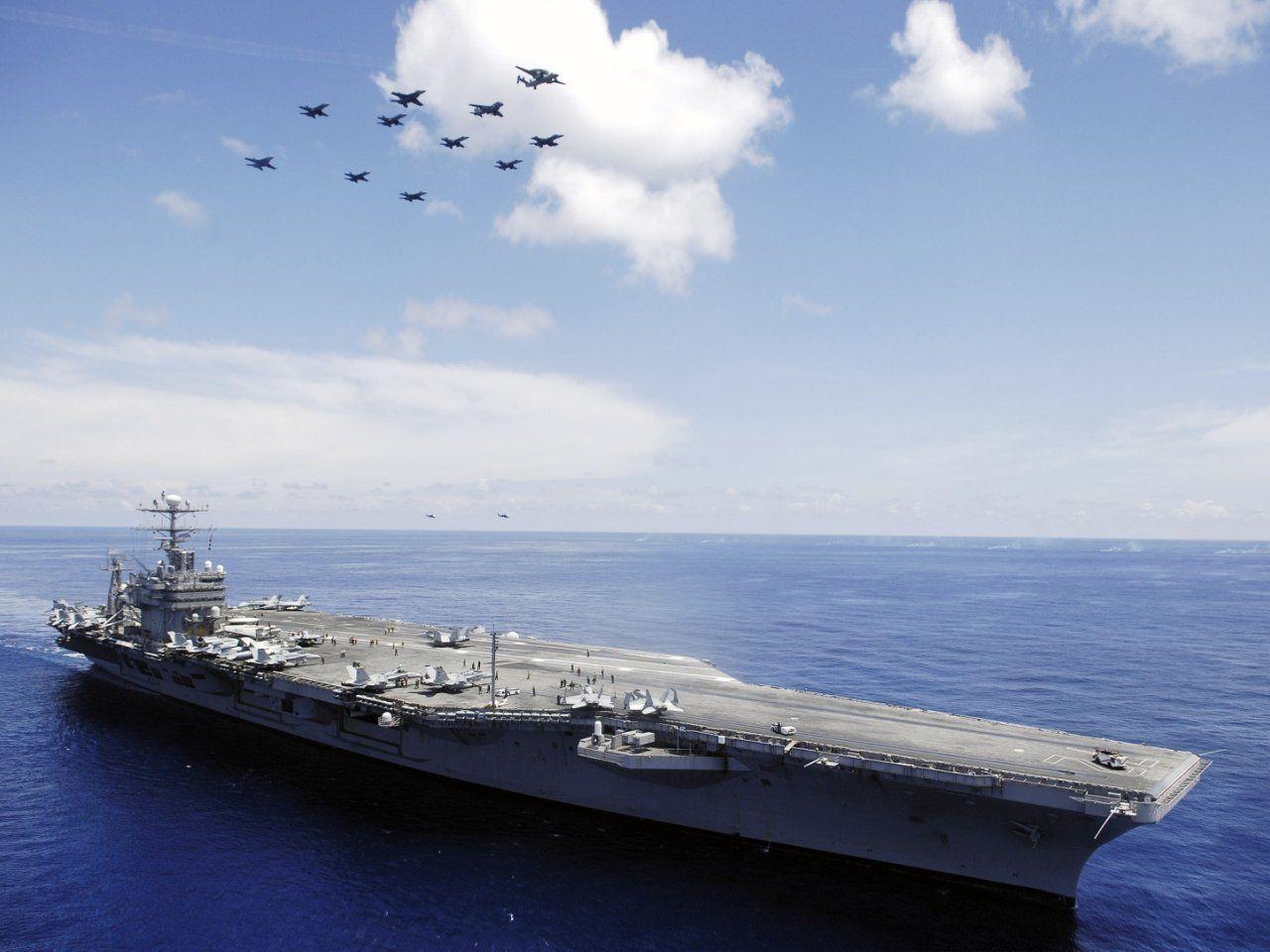 USS Nimitz Wallpapers - Wallpaper Cave