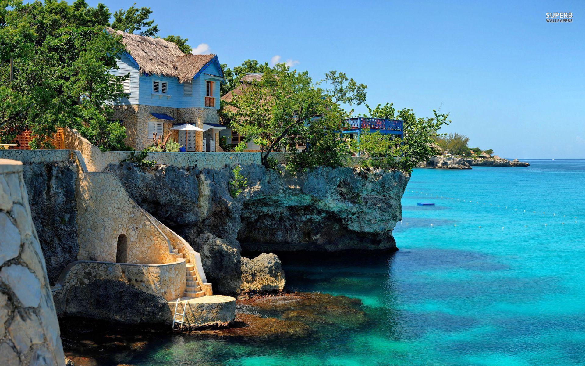 jamaica beach wallpapers wallpaper cave