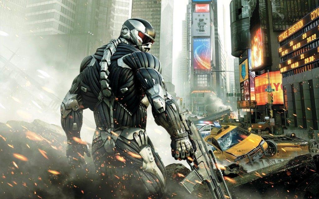 New Gaming PC Wallpapers Crysis Hd Desktop Wallpapers 1024x640PX