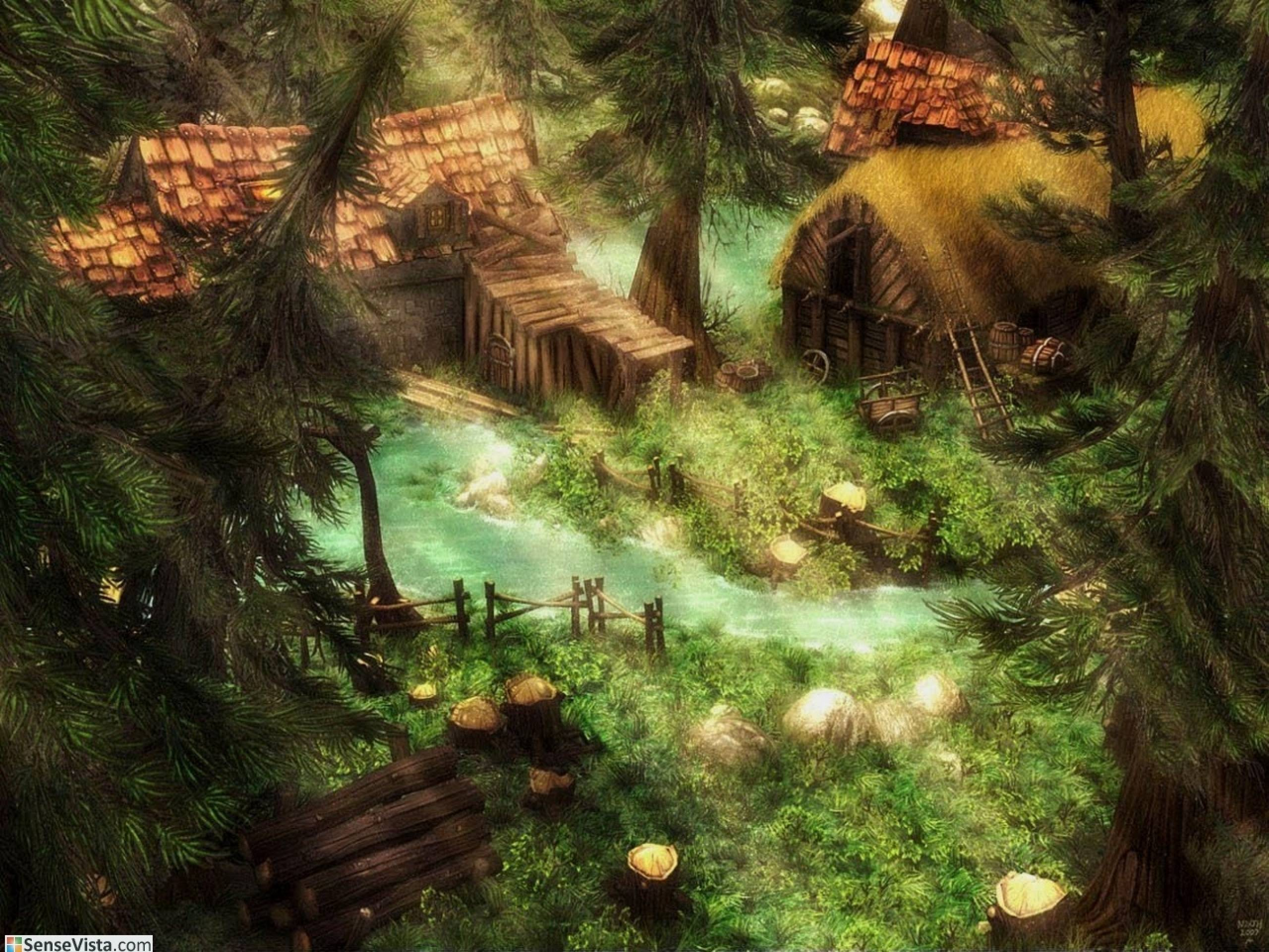 Creative Detailed Hd Fantasy Wallpapers: Fantasy Nature Wallpapers