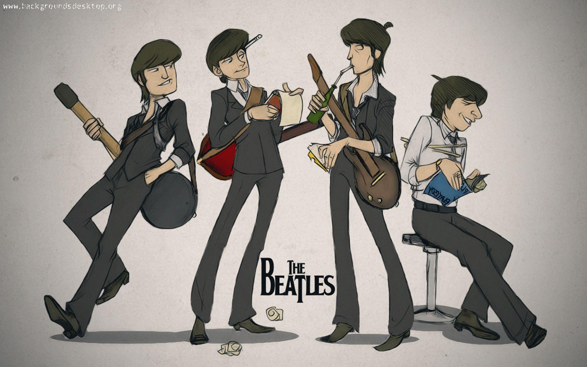 Beatles Wallpapers Border