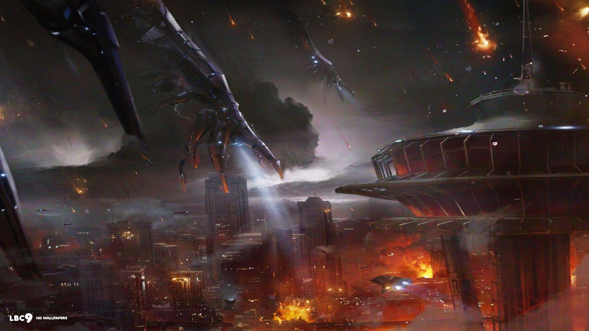 Mass Effect Reapers Wallpapers Wallpaper Cave