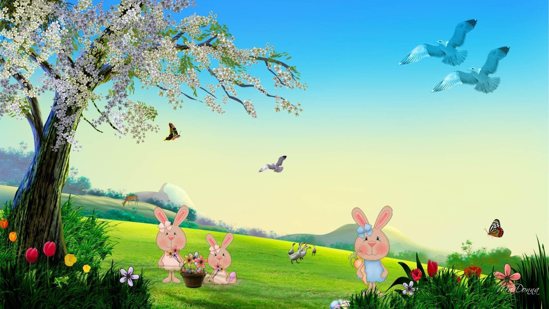 happy bunny wallpapers for desktop - photo #32