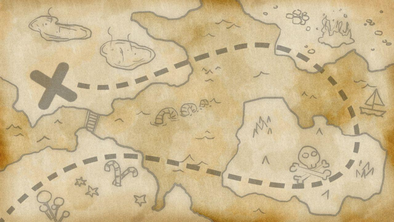 Old Treasure Map Wallpaper Old Map Backgrounds - ...