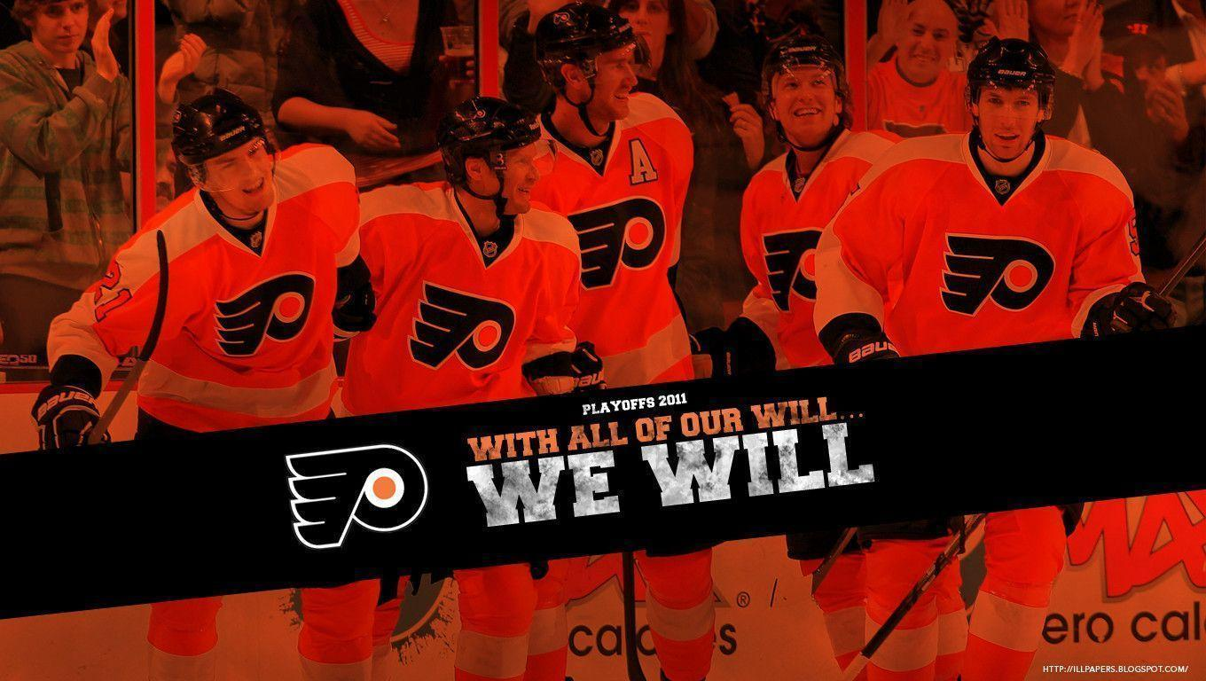 Philadelphia Flyers we Will 2011 Playoff Wallpapers