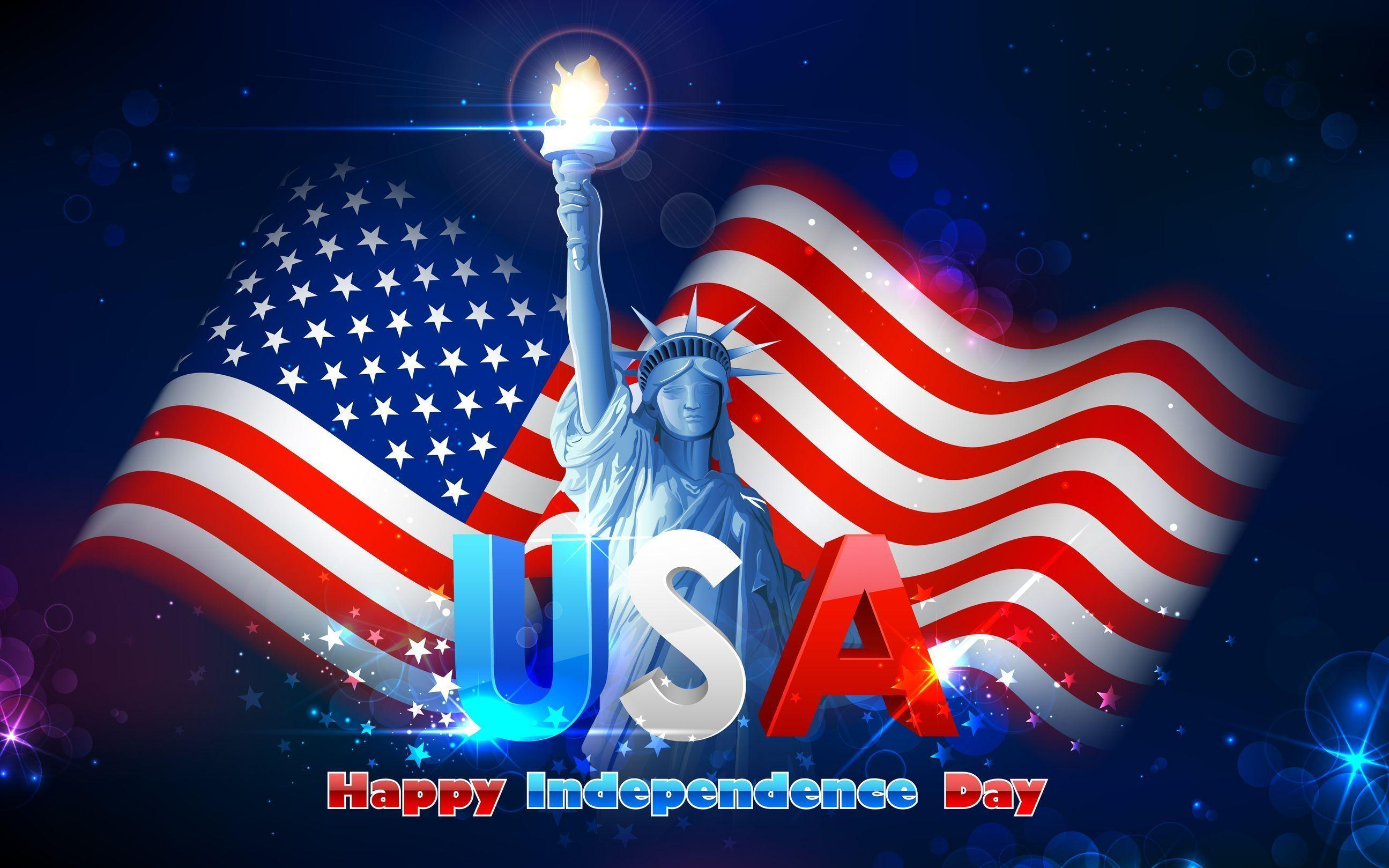 4th July Live Wallpaper FREE