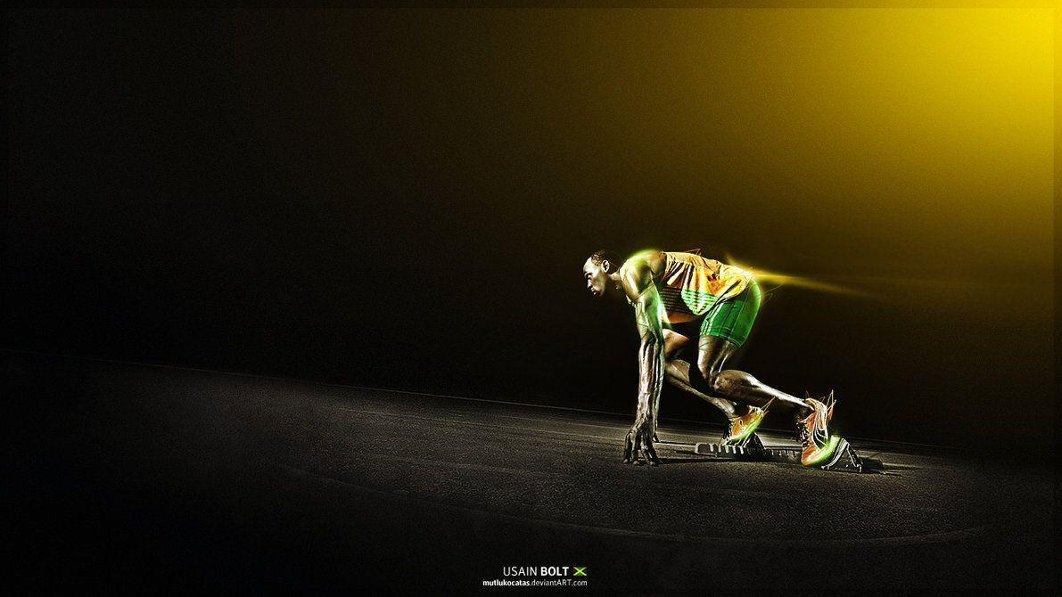 Usain Bolt - Jamaican Sprinter by mutlukocatas on DeviantArt