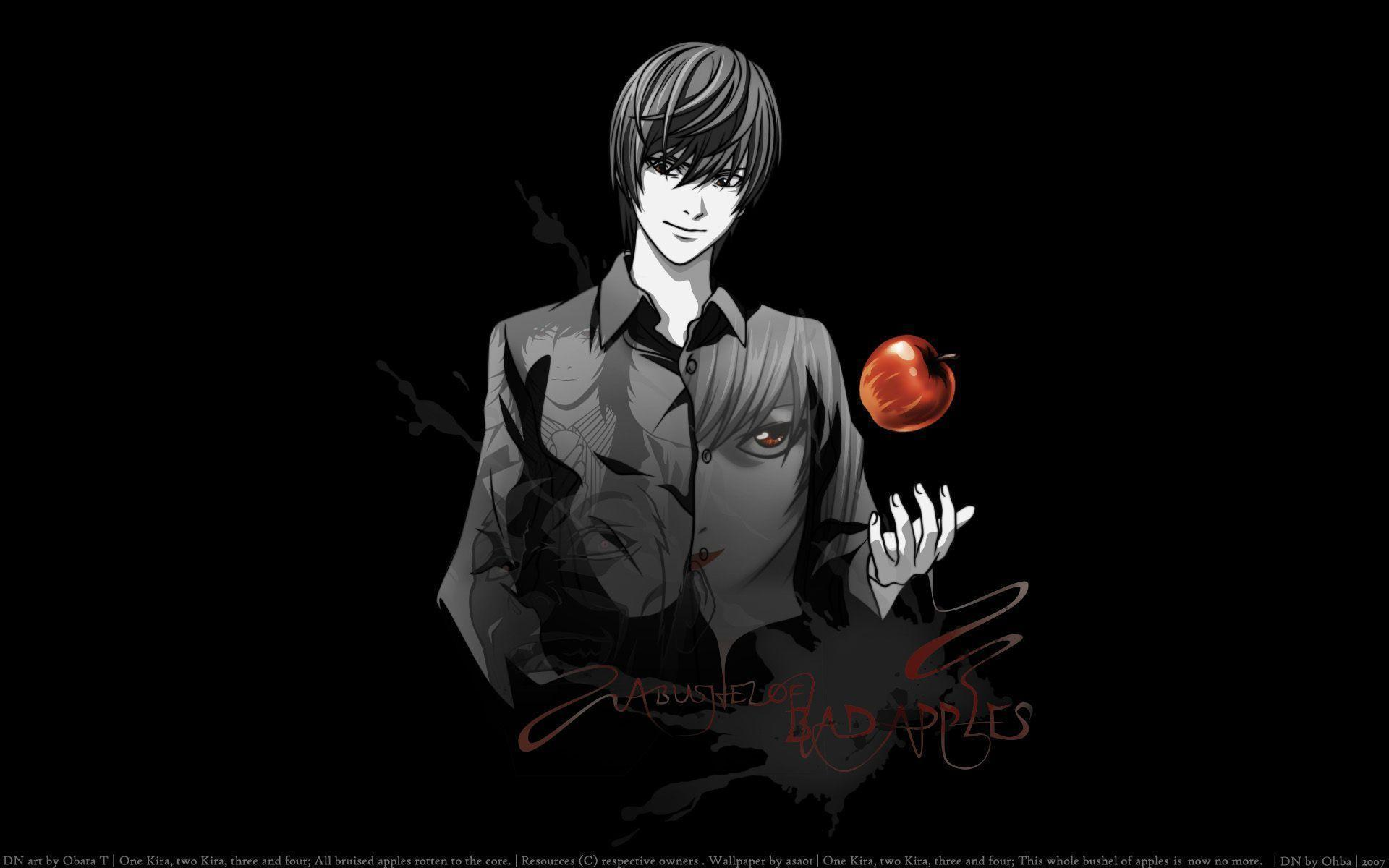Light Yagami Wallpaper - Death Note Wallpaper (36246923) - Fanpop ...
