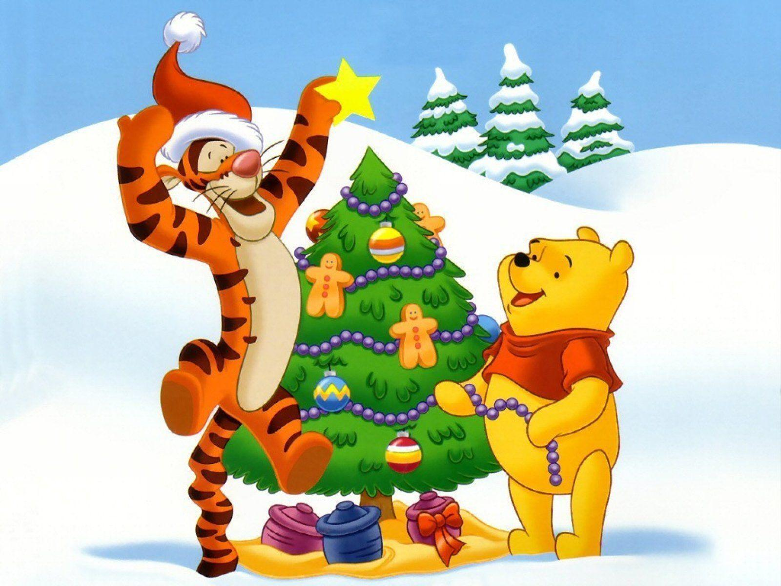 Christmas Tree for Winnie the Pooh