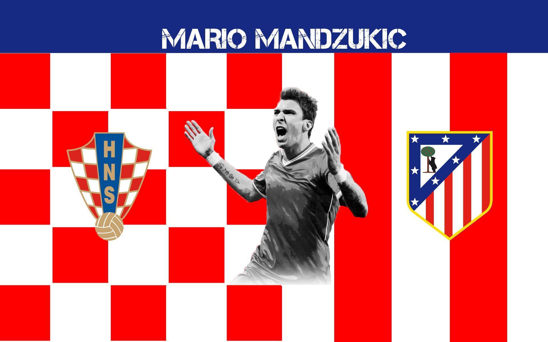 Mario Mandzukic 2014 Atletico De Madrid Wallpaper Wide or HD ...