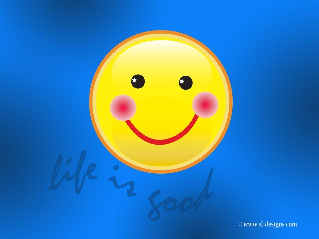 Life is good Smiley face