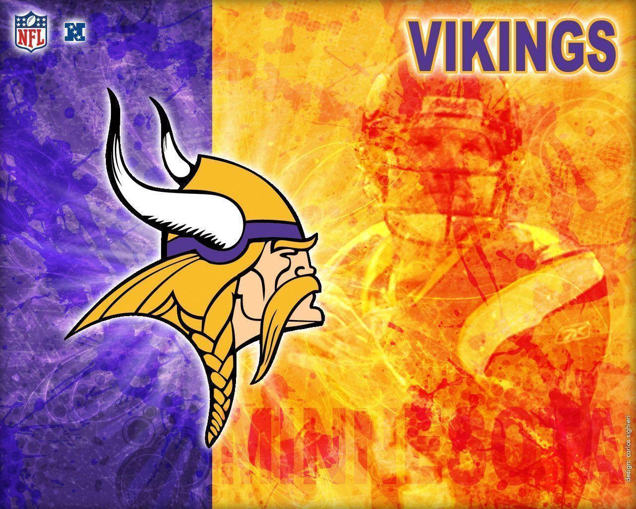 Minnesota Vikings Background Wallpaper | Free Download Wallpaper ...