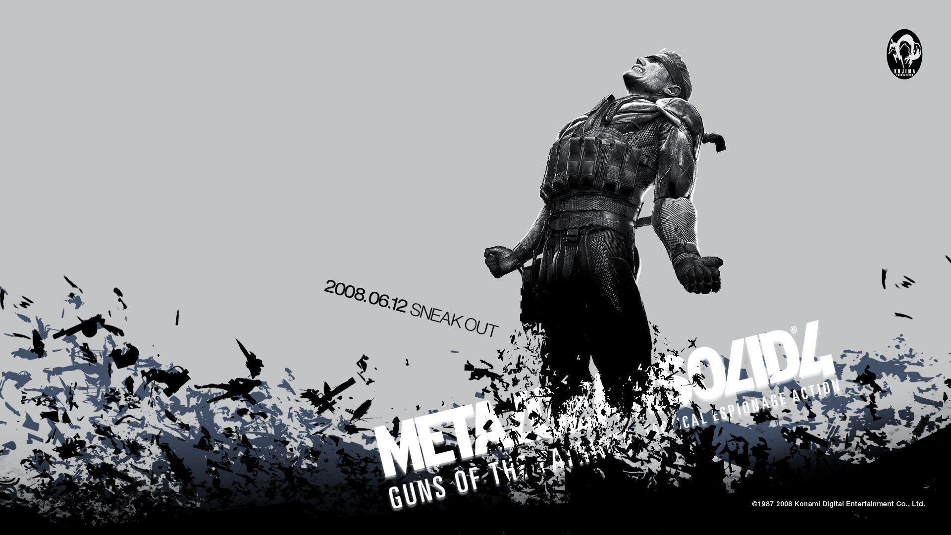 Metal Gear Solid 4 Wallpapers Wallpaper Cave