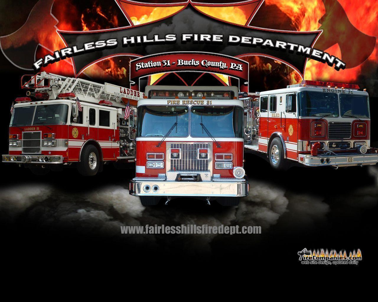 Fire Truck Wallpapers Wallpaper Cave