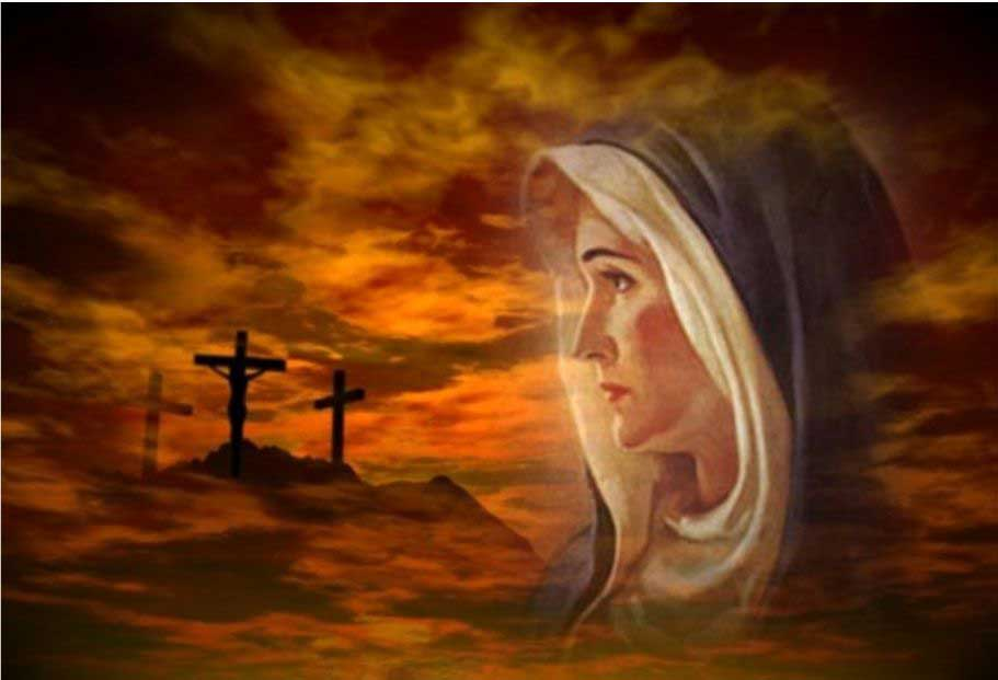 holy mary jesus cross - photo #4