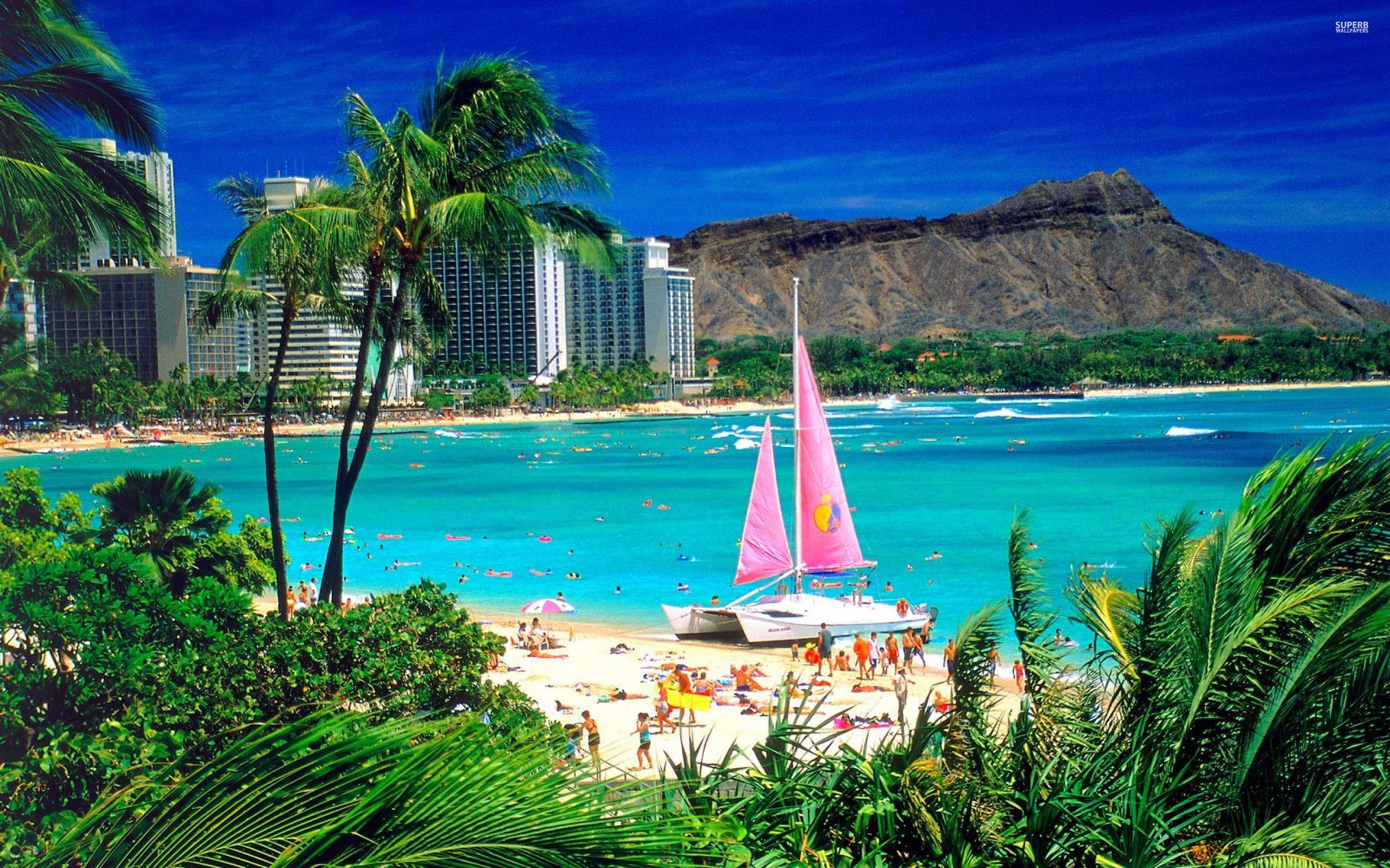 Hawaiian Beach Wallpapers Wallpaper