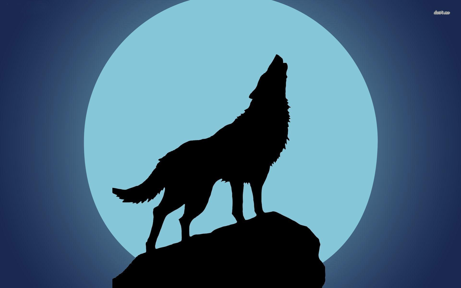 black wolf howling wallpaper - photo #31