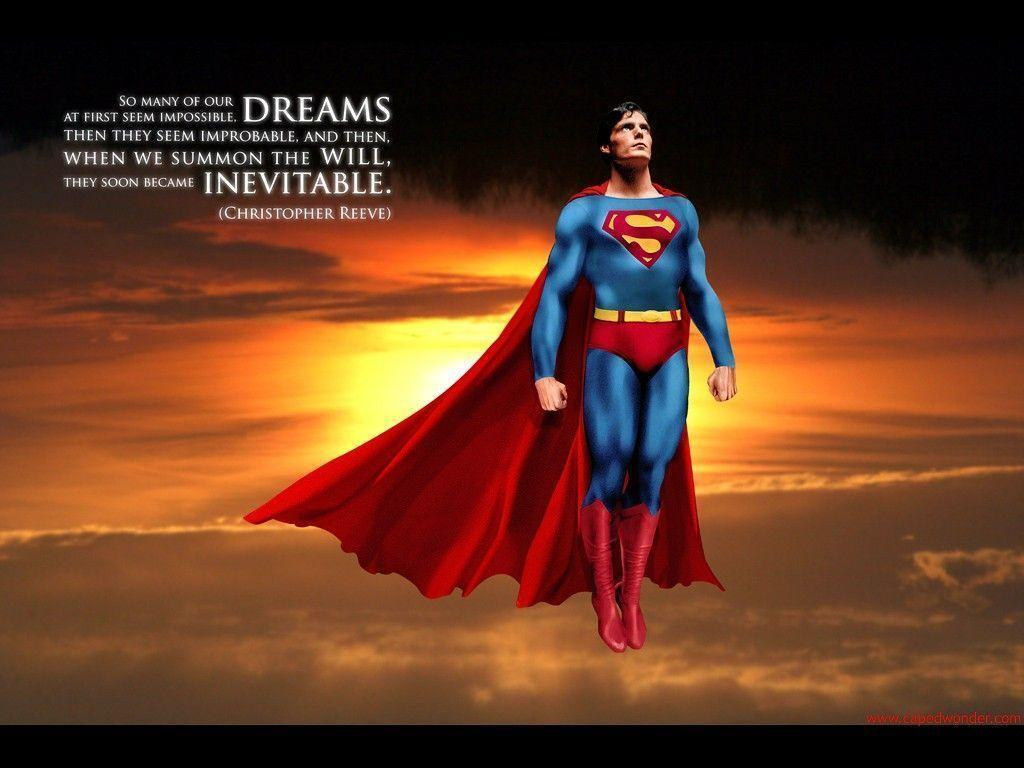 Superheros Assemble: The Man of Steel Christopher Reeve