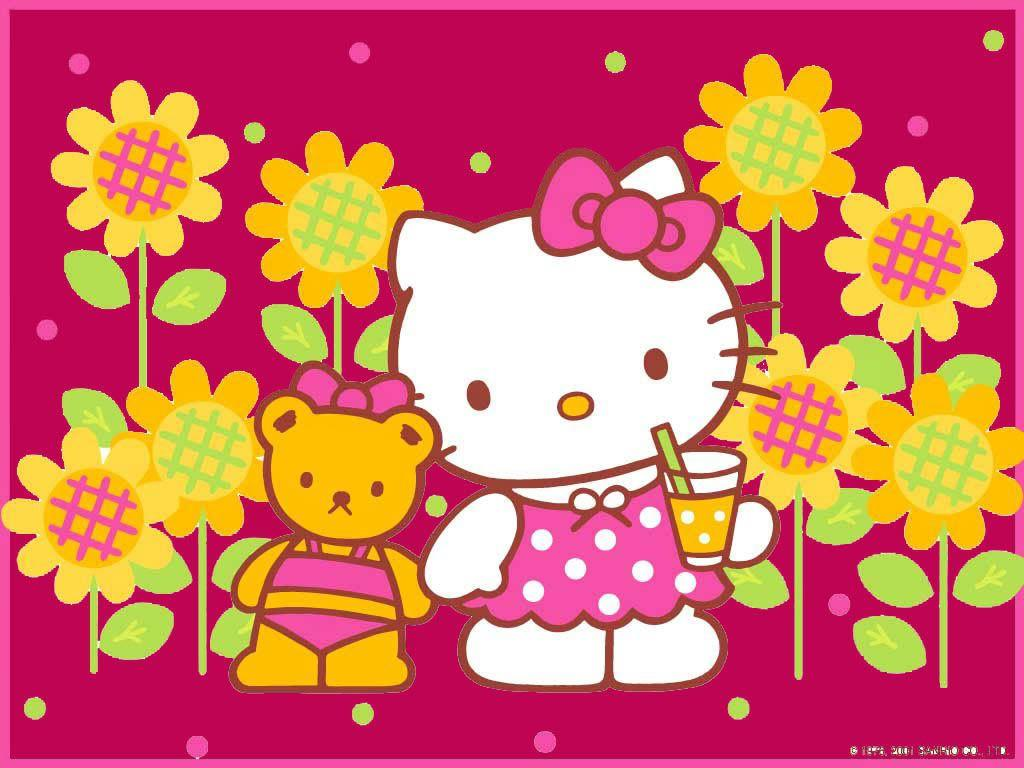 hello kitty wallpapers for desktop wallpaper cave
