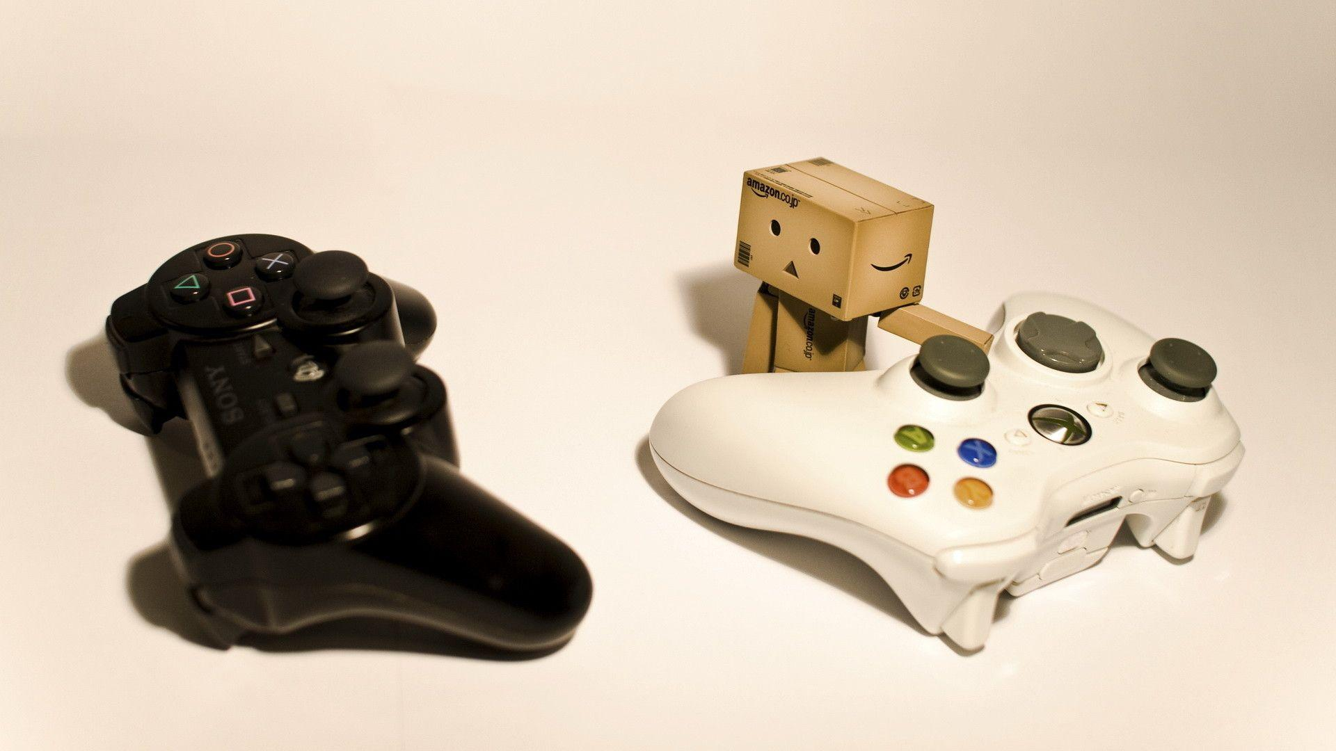 Download wallpapers dambo, Cardboard Robot, xbox 360, playstation 3