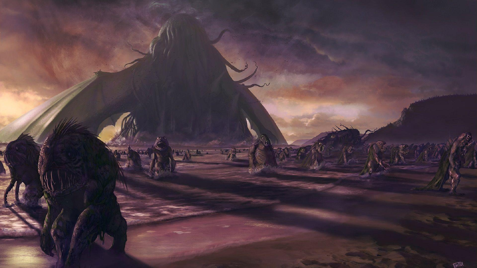 Image For > Cthulhu Wallpapers 1600x900