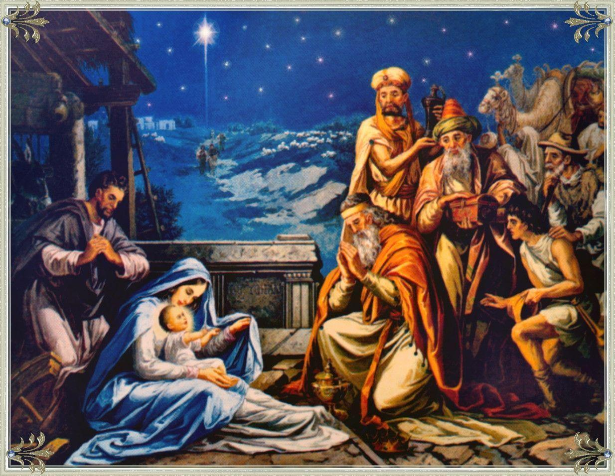 Pix For > Nativity Scene Wallpapers Hd