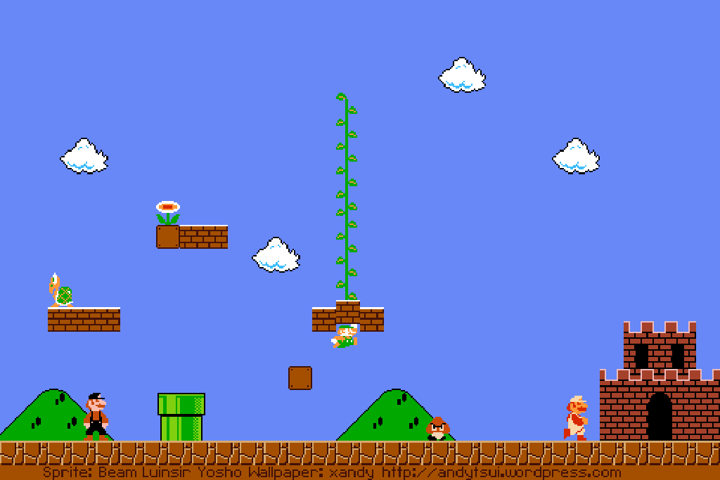 Cool mario backgrounds