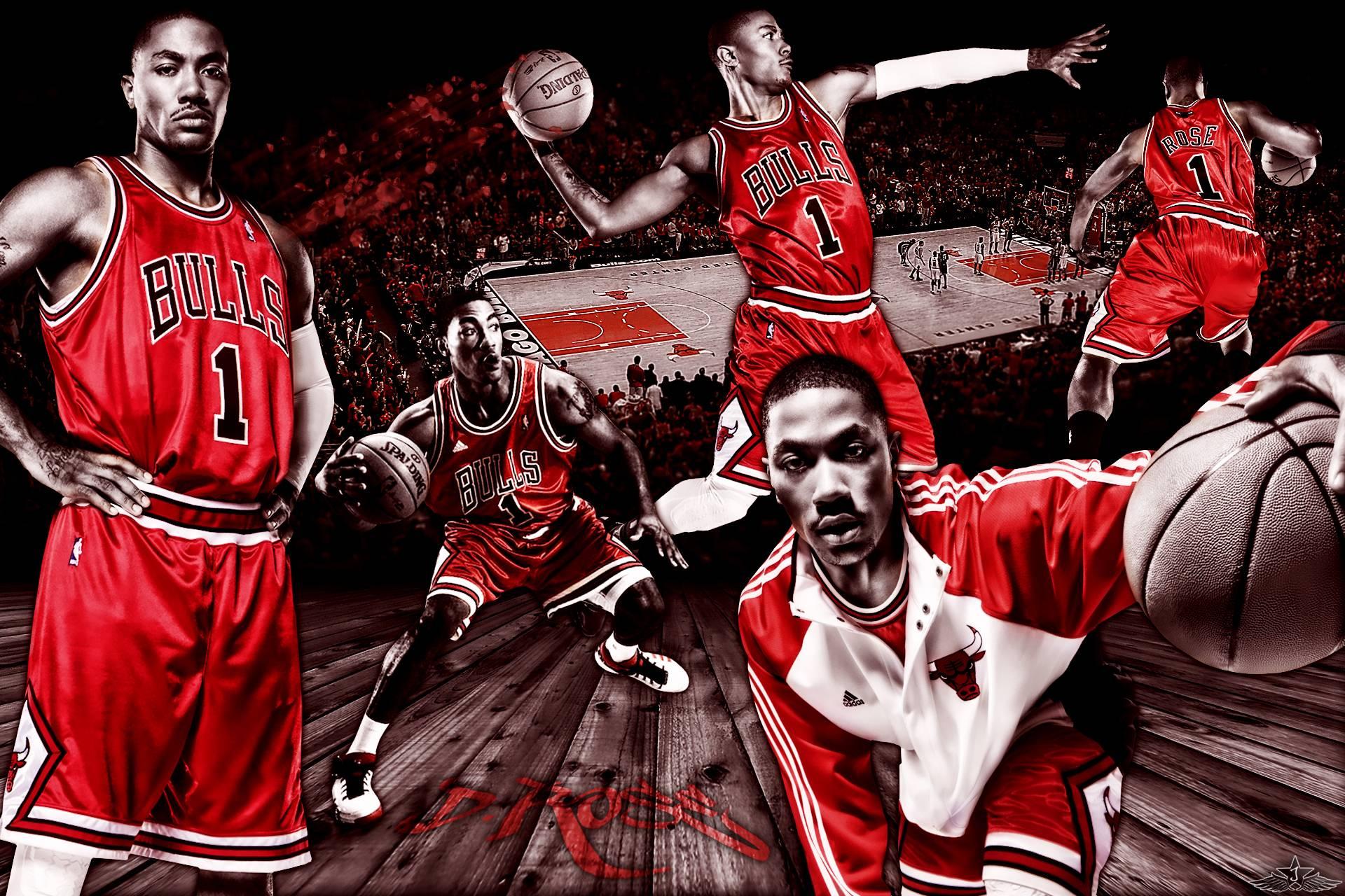 Derrick rose bulls wallpapers wallpaper cave - Derrick rose cool wallpaper ...