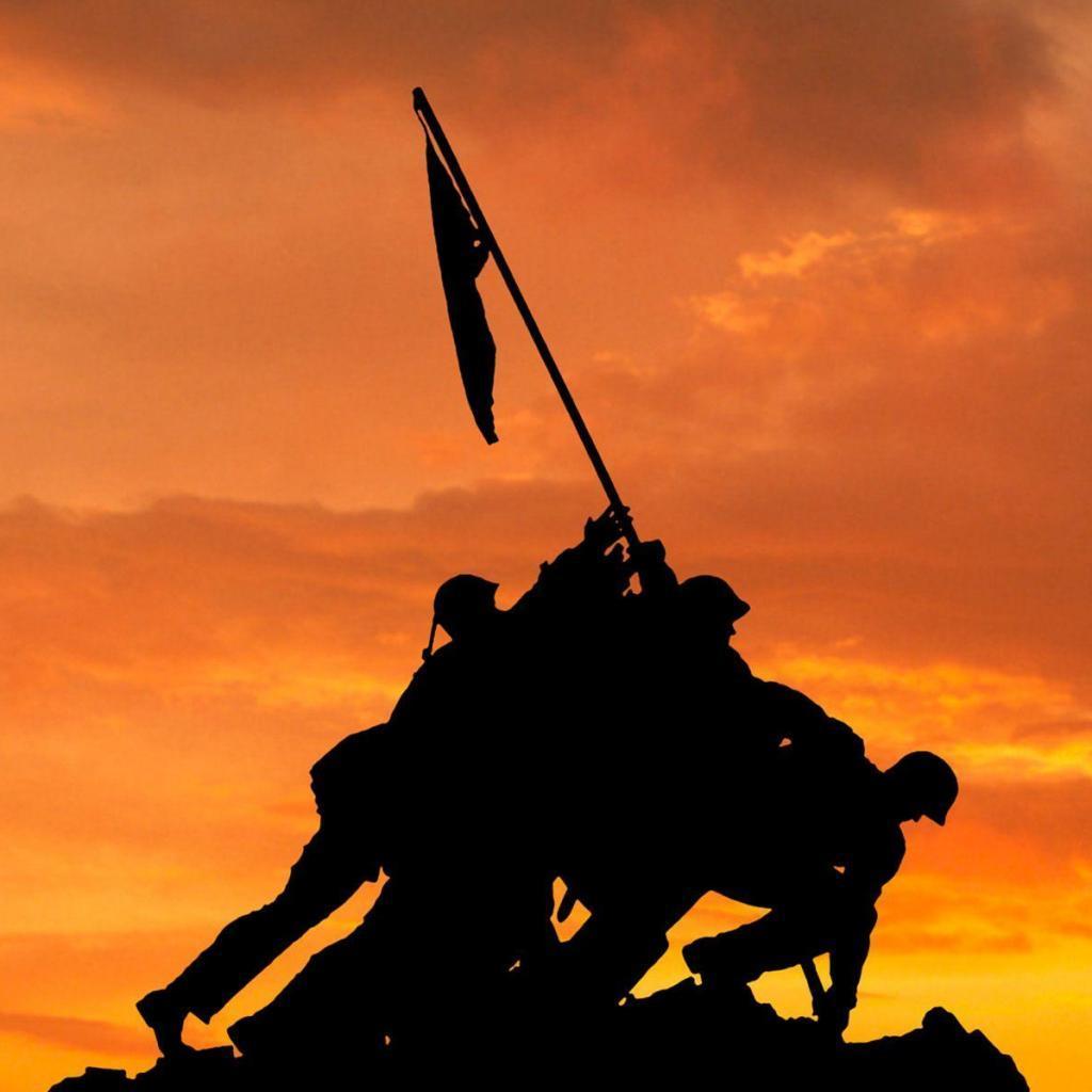 Iwo Jima Memorial iPad Wallpaper Download | iPhone Wallpapers .