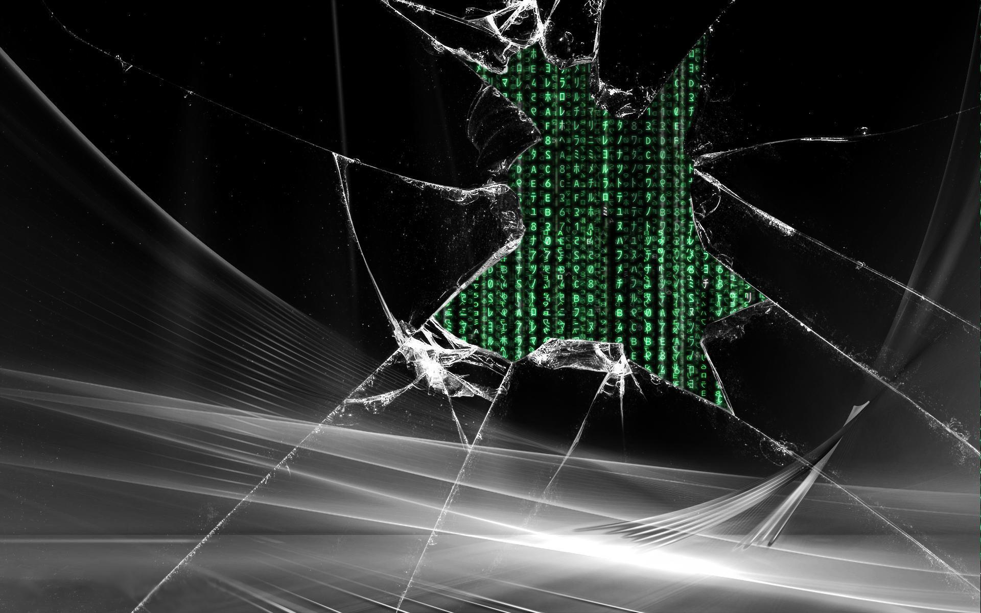 cracked screen wallpaper for - photo #9